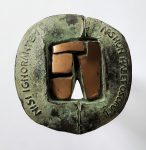 Ars non habet osorum 1  brons 60mm
