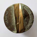 gedenkpenning De Olifant 1981   brons 90mm