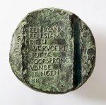 poëzieprijs Plasmolen brons 90mm